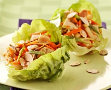 Asian Chicken Lettuce Wrap