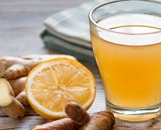Turmeric, Ginger & Lemon Tonic Tea