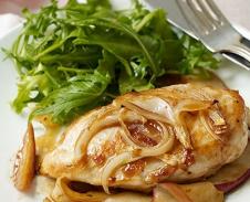 Apple Onion Chicken Breast