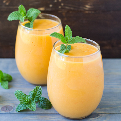 Creamy Tropical Carrot Smoothie