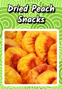 Dried Peach Snacks Recipe