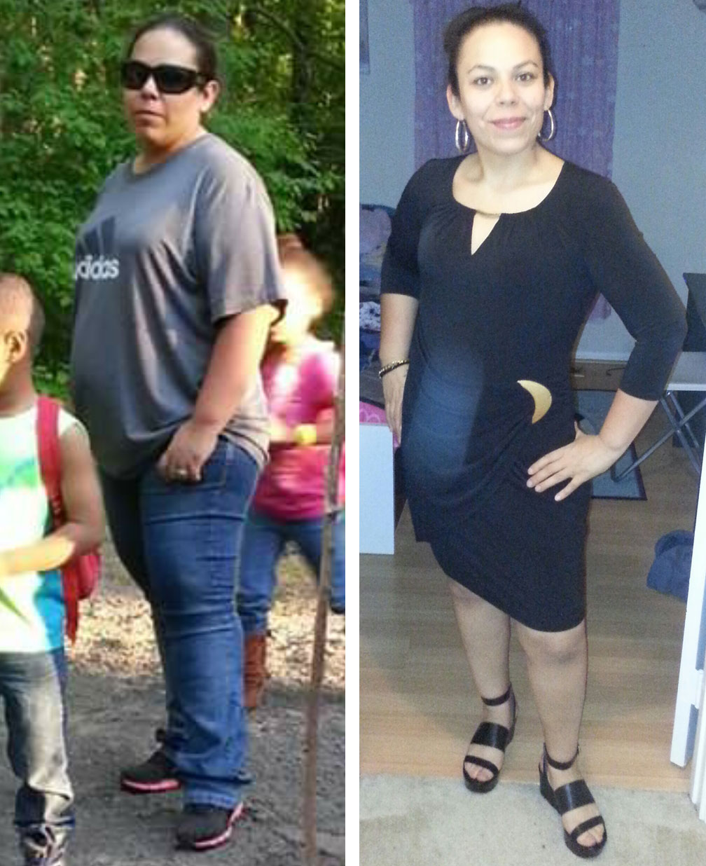 Wisdom in Nutrition Client Before and After Photo