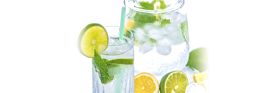 Citrus Mint Water